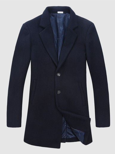 Fall Men Overcoat