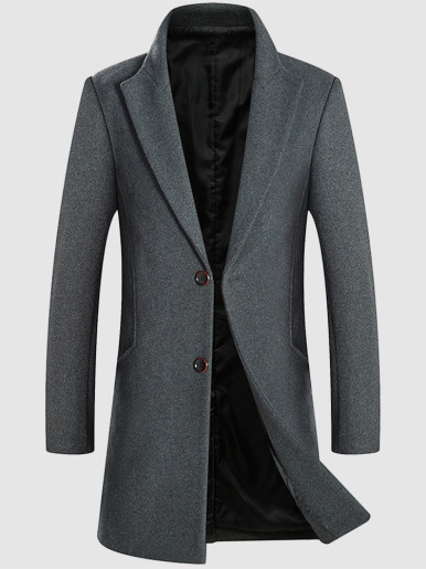 Smart Casual Men's Wool Jacket