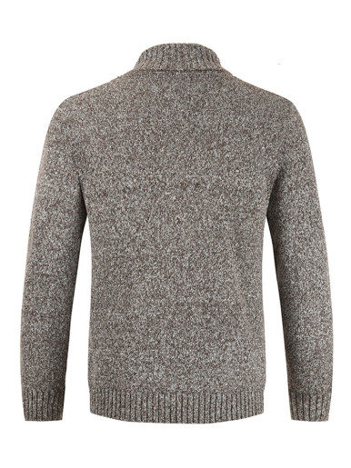 Double Breasted Men Cardigan Sweater