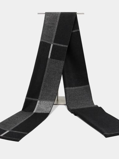 Winter Wool Cashmere Multi-pattern Men Scarf