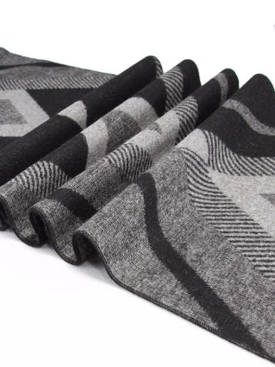 Multi pattern Cashmere Warm Men's Scarf