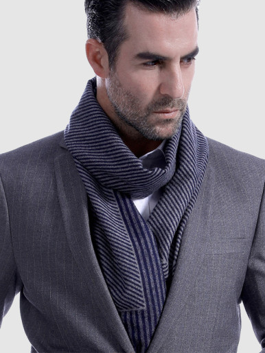 Classical Stripe Men Business Scarves
