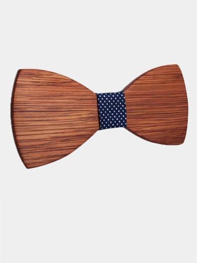 Handmade Wooden Men's Suit Bow Tie For Groom Wedding Party