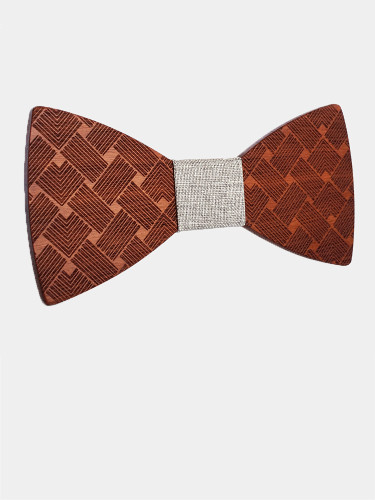 Wooden Gravatas Bow Ties For Men