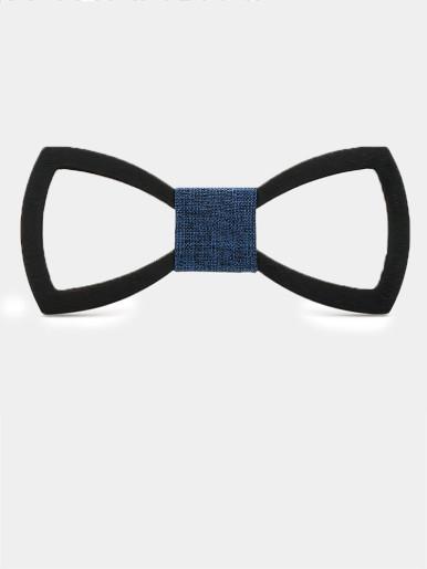 Men Handmade Wooden Bow Tie