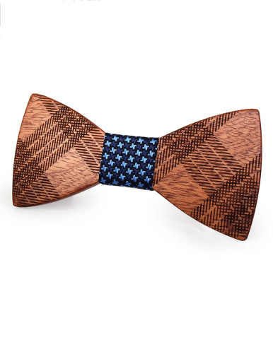 Wooden Bow Ties for Men