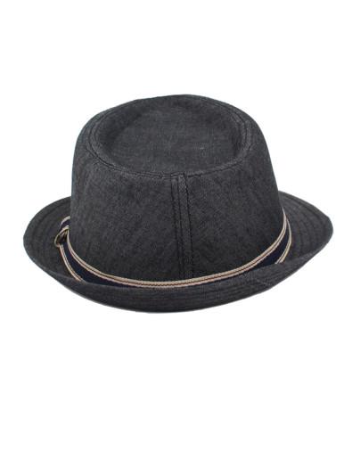 Men's Classic Trilby Short Brim Fedora Hat