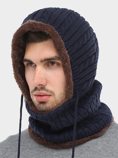 Men's Winter Warm Face Mask Skiing Balaclava Hat