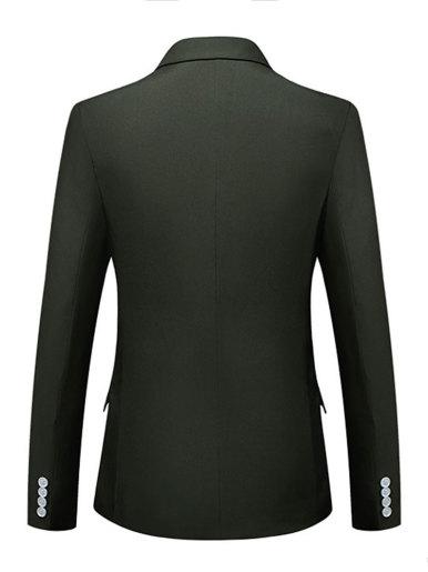 Classic Slim Fit Men Blazer Suit Jacket