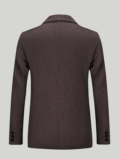 Double-sided Wool Blazer Men's Suit Jacket