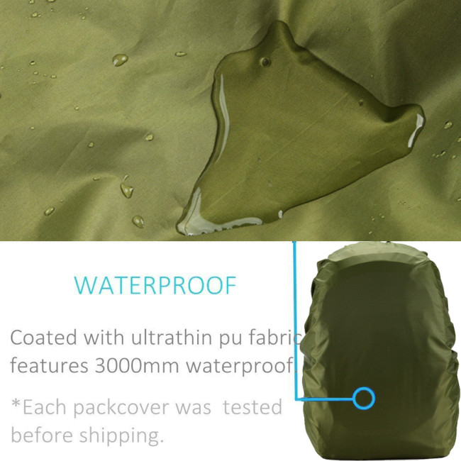90L-100L Camo Waterproof Backpack Cover