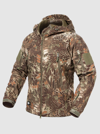Hooded Windbreaker For Men