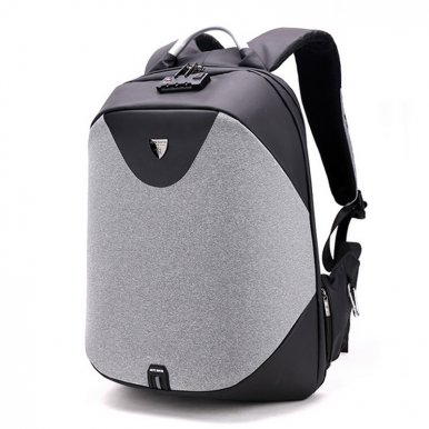 OneBling High Capacity Business Backpack External USB Port Laptop Bag Security Lock Anti-theft Waterproof College Bag