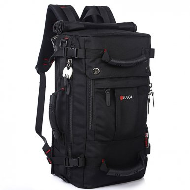 OneBling 3-in-1 Multi-function Oversized Capacity Waterproof Travel Backpack Men Messenger Bag Handbag