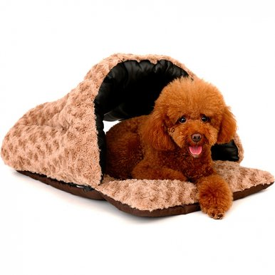 OneBling Multifunctional Anti-scratch PU Pet Bed Soft Cat House Puppy Nest Warm Mat Pet Sleeping Bag Rest Supplies
