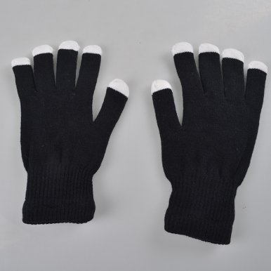 OneBling LED Glow Gloves Fingertip Flash Glove Gloves Knitted Warm Gloves