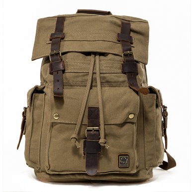 OneBling Anti-theft Wear-Resistant Canvas Backpack Travelling Luggage Bag Outdoor Sports Bags