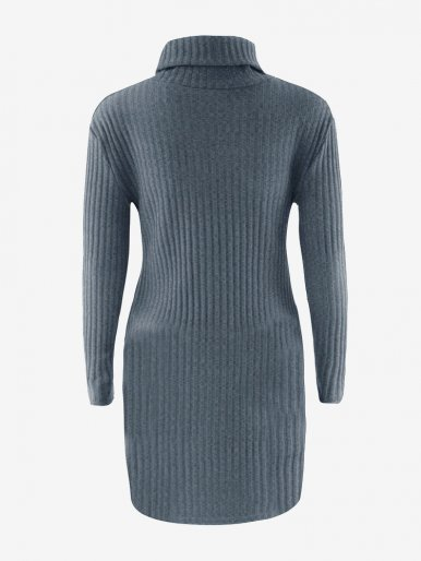OneBling Cowl Neck Knit Bodycon Dress