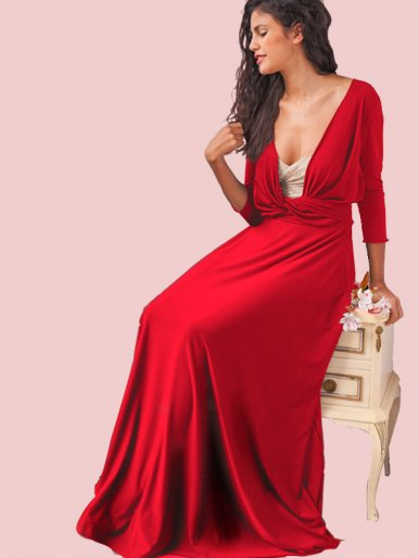 OneBling Sexy Women Multiway Bandage Maxi Dress
