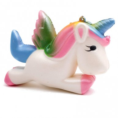 OneBling Cute Unicorn Cartoon Doll Slow Rising Squeeze Squishy Toys Decorative Props