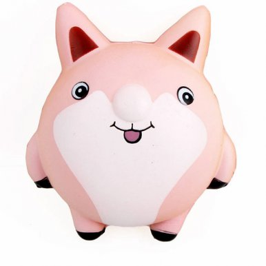 OneBling Squishy Cute Fatty Fox Cartoon Doll Toys Slow Rising Decompression Squeeze Toys