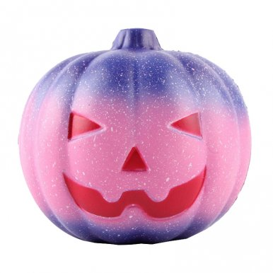 OneBling Starry Sky Pumpkin Squishies Slow Rising Squeez Toys Halloween Decorative Props