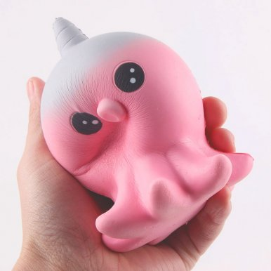 OneBling Squishies Cute Octopus Cartoon Doll Toy Slow Rising Decompression Squeeze Toys