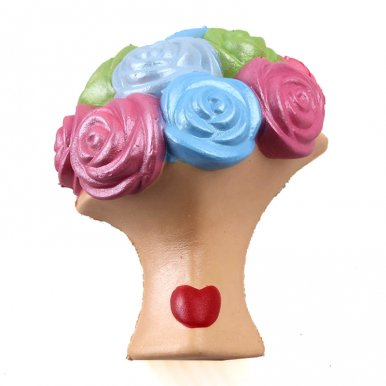 OneBling Rose Flowers Squishies Slow Rising Decompression Squeeze Lovely Toys Mother's Day Gift