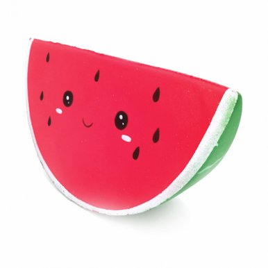 OneBling Smiley Watermelon Slow Rising Squeeze Toys Kids Soft Lovely Toy Decompression Toy
