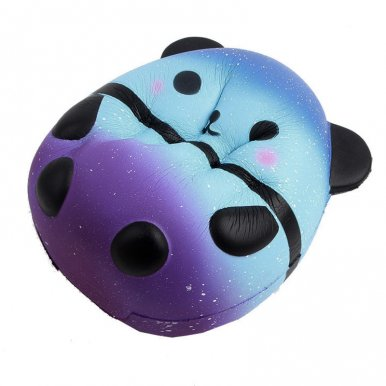 OneBling Starry Sky Panda Jumbo Cute Kawaii Cartoon Squishy Toys Slow Rising Squeeze Toys