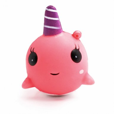 OneBling Small Whale Cartoon Doll Squishies Stress Relief Soft Toy Slow Rising Squeeze Toys