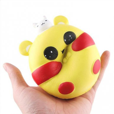 OneBling Cute Kawaii Fat Rabbit Animal Squishies Slow Rising Squeez Toys Decompression Stress Relief Toy
