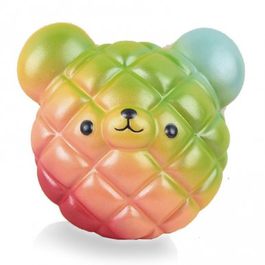 OneBling Squishy Bear Pineapple Buns Soft Lovely Toys Slow Rising Squeeze Toys