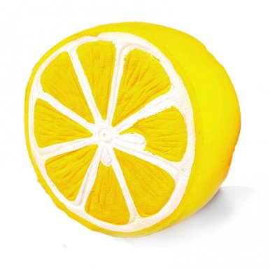 OneBling Half Lemon Fruit Squishy Toys Soft Slow Rising Squeeze Toys Relieve Stress Toys