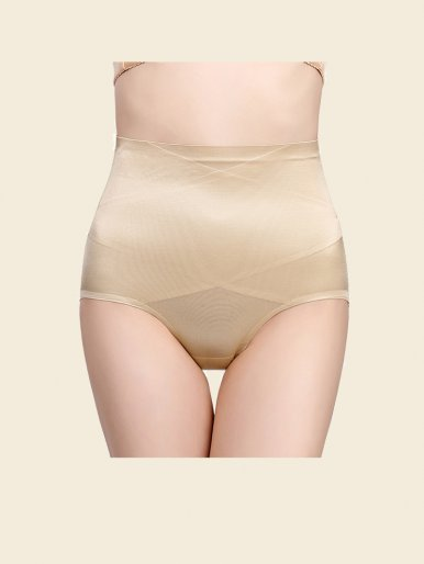 OneBling High Waist Cross Seamless Shapewear Panties
