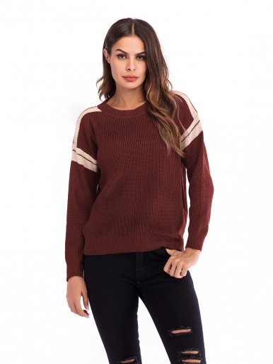 OneBling Knit Jumper with Tape Detail