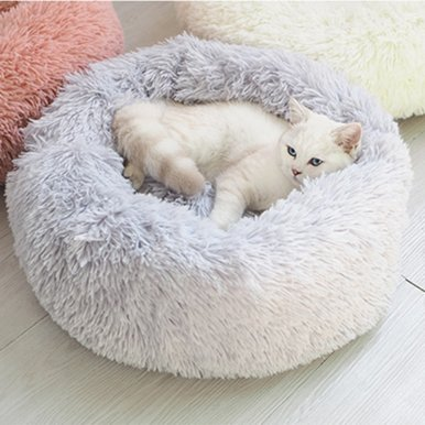 OneBling Long Plush Pet Bed Kennel Dog Cat Sleeping Bag Puppy Cushion Mat Cat Supplies