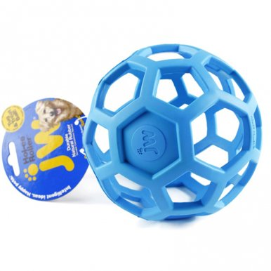 OneBling Geometric Ball Pet Dog Toys Non-Toxic Rubber Ball Toy Chew Toy