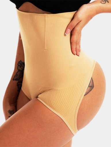 Women Control Panties Seamless Shapewear Body Shaper Push Up Briefs