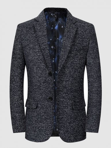 Men's Blazer Casual Working Suit Jacket