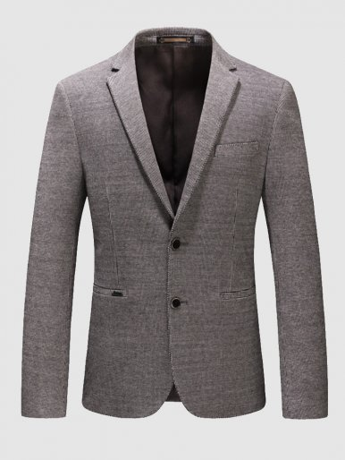 Men's Regular Fit Blazer Suit Jacket