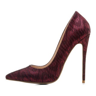 Arden Furtado 2018 new style slip on sexy high heels 12cm wedding shoes for woman office lady stilettos