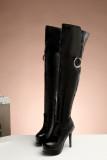 Arden Furtado Women Shoes Sexy 2018 new winter over the knee Boots Ladies Fashion High Heels 12cm Woman platform boots Stilettos