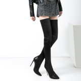 Arden Furtado 2018 new style over the knee boots sexy high heels stiletto heels 12cm woman fashion boots shoes ladies