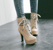 2018 new style big size shoes 40-50small size ankle boots 30-33