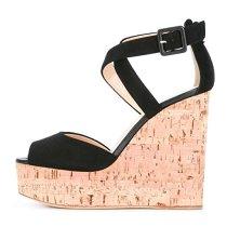 Arden Furtado summer high heels platform wedges sandals fashion woman shoes green red nude blue sandals