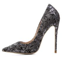 Arden Furtado 2018 spring autumn new style shoes woman fashion stilettos slip on pumps flowers cloth office ladies high heels