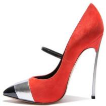Arden Furtado new style autumn pumps buckle sexy high heels 12cm orange blue party shoes for woman elegant stilettos women