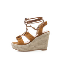 Arden Furtado summer 2019 fashion trend women's shoes elegant pure color sandals waterproof narrow band retro classics