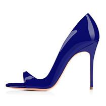 2018 summer high heels 12cm stilettos big size fashion sandals pumps brand shoes for woman party shoes